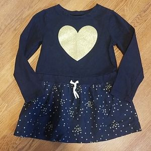 Black and Gold Carters Dress